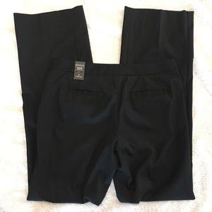 NWT Pinstripe Boot Cut Pants